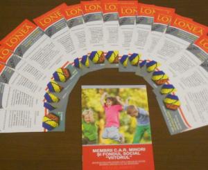 Membrii C.A.R. Lonea minori și Fondul social Viitorul